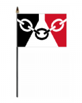 Black Country Hand Flag - Small.
